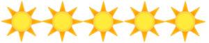 Soleil-5 Etoiles